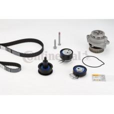 Ремень ГРМ, комплект с водяным насосом, Contitech CT957WP3